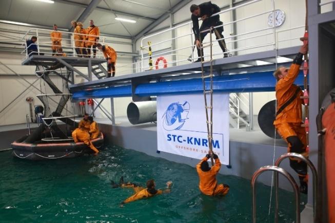 STC KNRM in actie